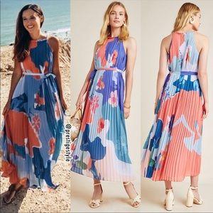 NWT ANTHROPOLOGIE Encanta Abstract Maxi Dress
